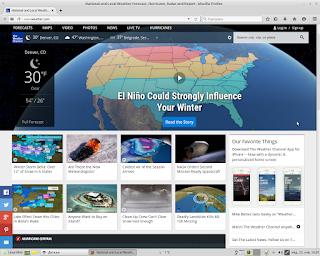 Интернет сајт Weather.com