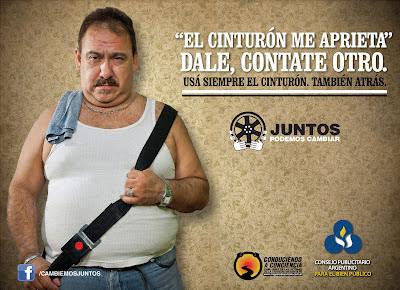 EL CINTURÓN ES OBLIGATORIO