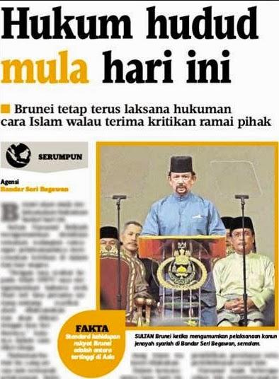Edisi Motif Viral Hukum Hudud Di Brunei