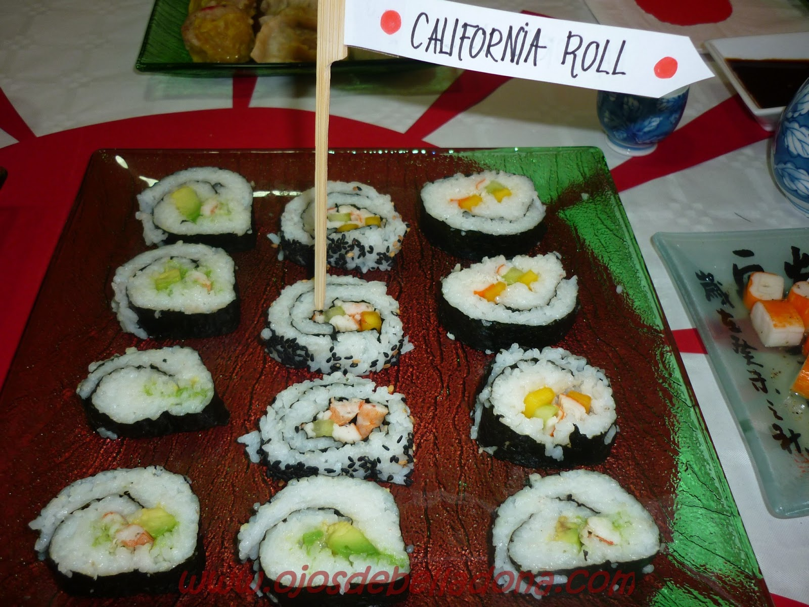 Makisushi y California rolls