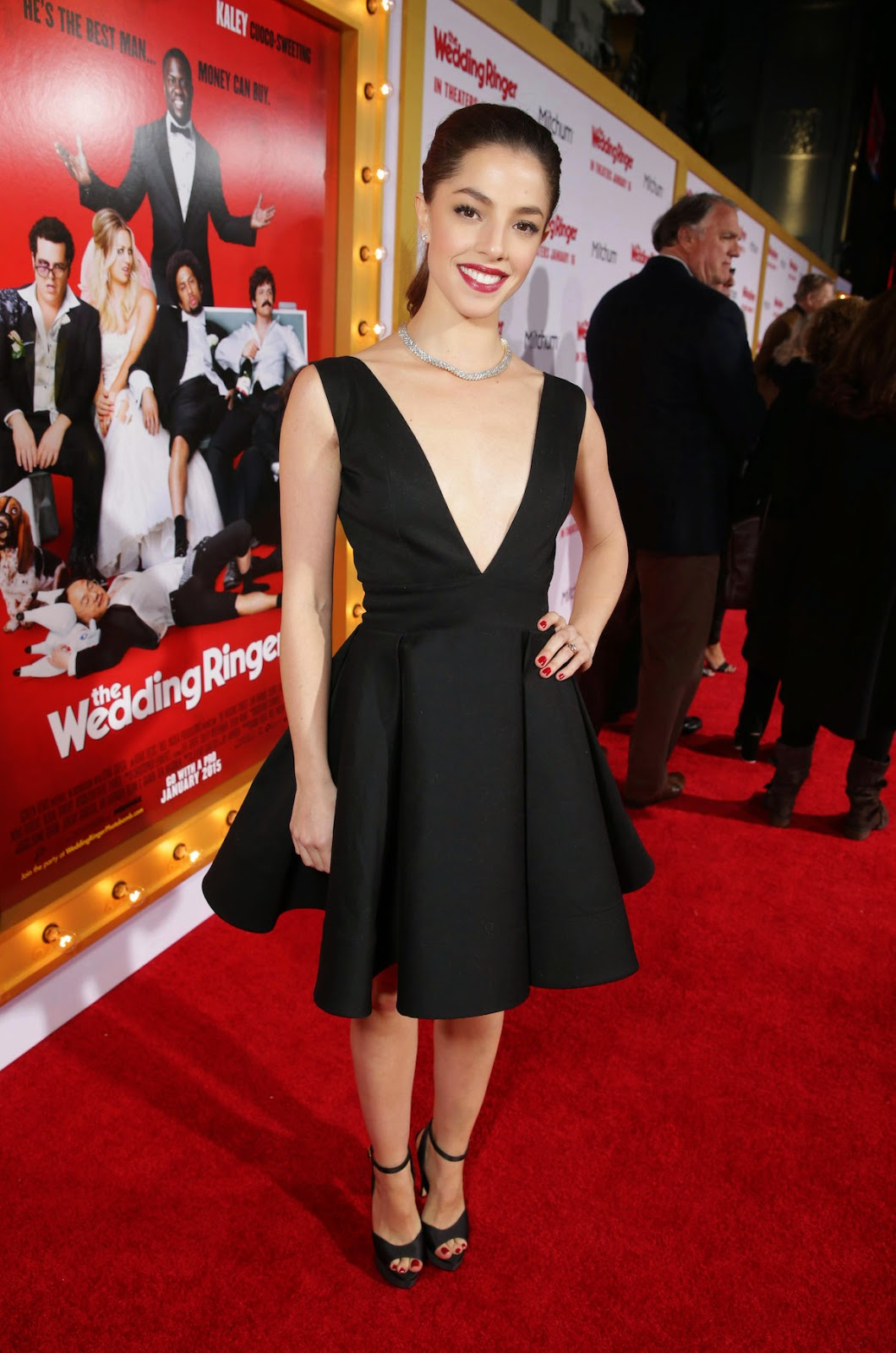 Olivia Thirlby - The Wedding Ringer Premiere in Hollywood