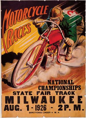 K 11 Poster Motoblogn: Vintage Motorcycle Race Posters
