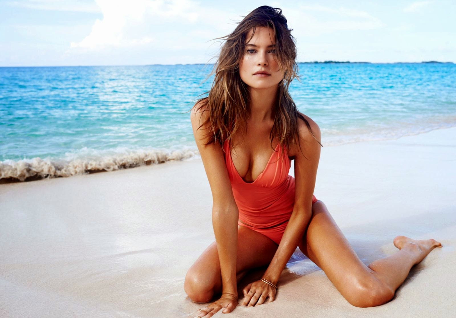 Behati Prinsloo sizzles for the Paola and Murray Swimwear Lookbook 2015