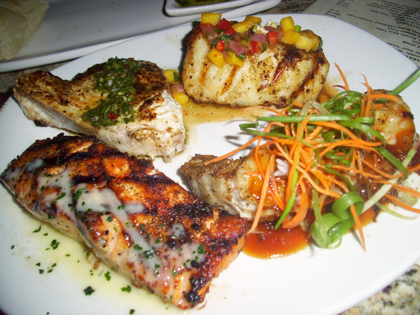 chicago foodie sisters bonefish grill in orland park il
