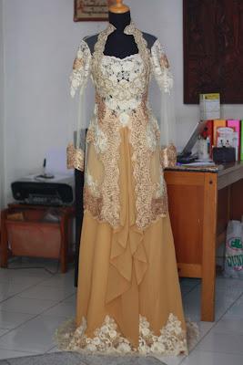 Model Baju Kebaya Muslim Acara Akad Pernikahan