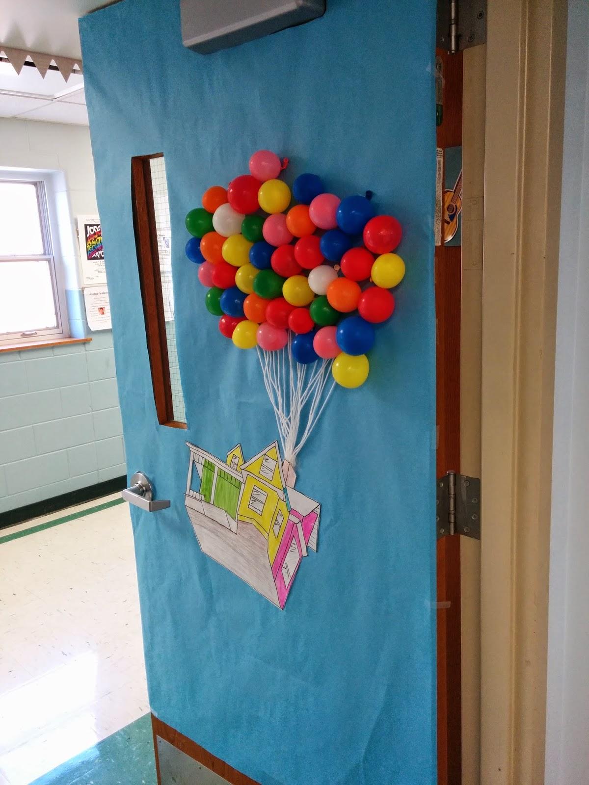 Up Classroom Decor ~ Classroom door decorating art gone loco