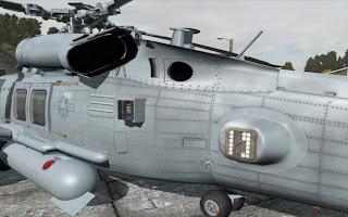 弱者の日記^^HH-60H アドオンの開発中画像が公開