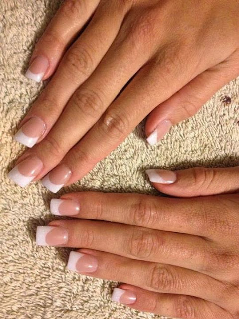 classic-French-whites-on-the-Pre-New-Year-Nails-Special-now-ladies-Classic-French-white-nails-acrylic-backfill-LED-polish-Pedicure-Gel-Nails-Polish-LED-Polish-LED-Nails-Manicure-Acrylic-Nails-Nail-Art