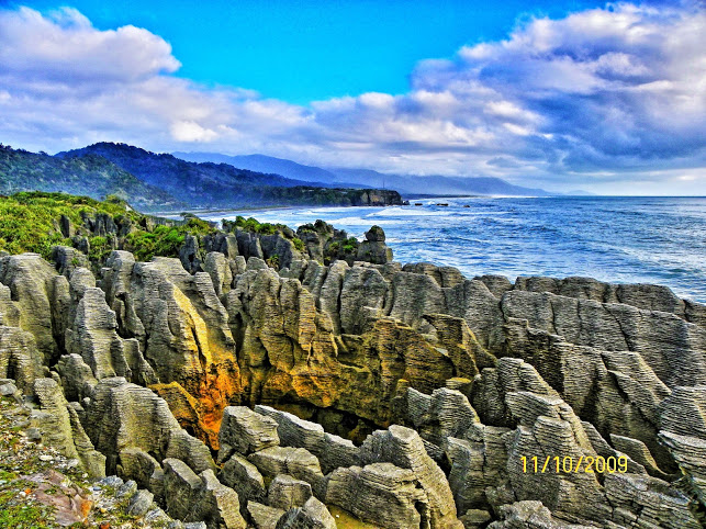 Punakaiki y los Pancakes Rocks