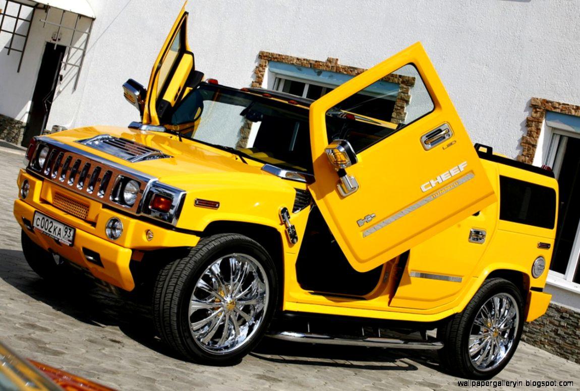 hummer yellow car wallpaper desktop | wallpaper gallery