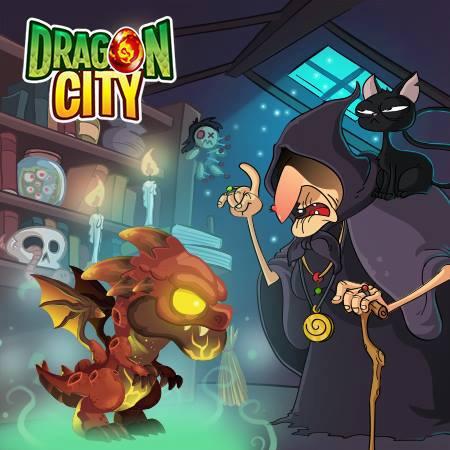 imagen del dragon meteoro en el mercado negro de dragon city
