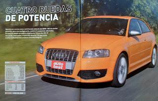 prueba test Audi S3