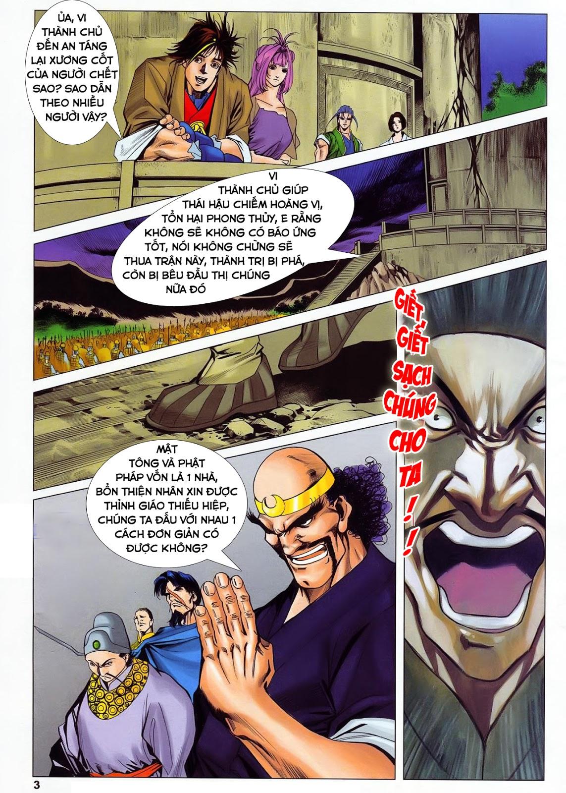 Lục Đạo Thiên Thư chap 36 - Trang 3