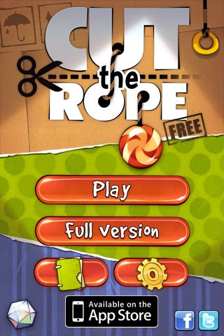 Cut The Rope Free App Game By Chillingo