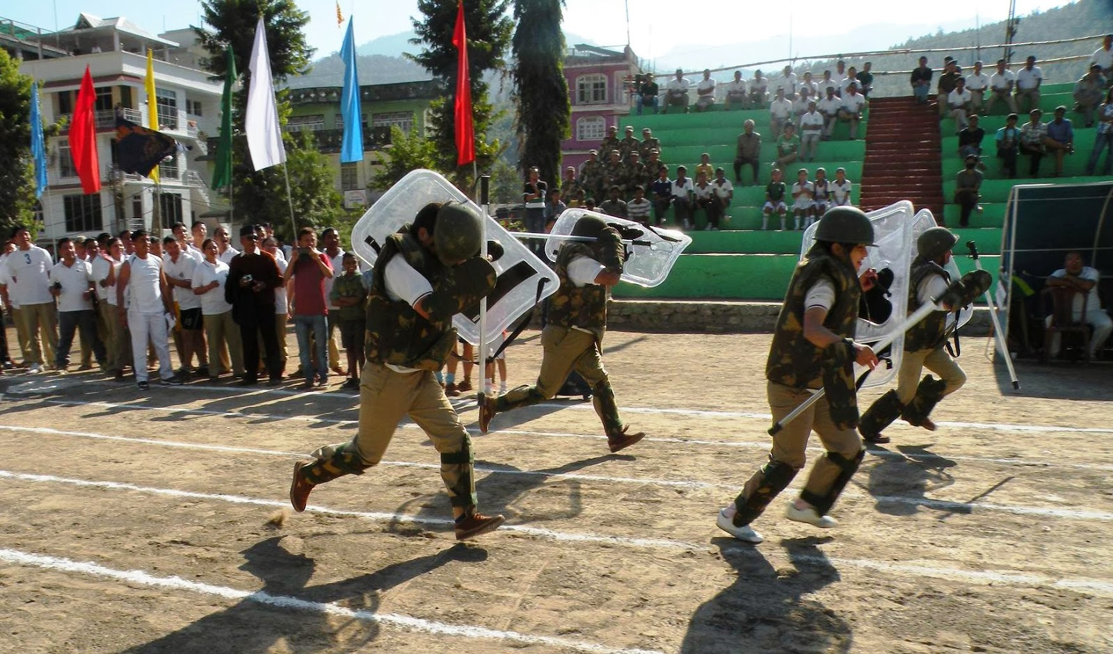 Sikkim Now Cops Compete In Special Tactical Sports Meet