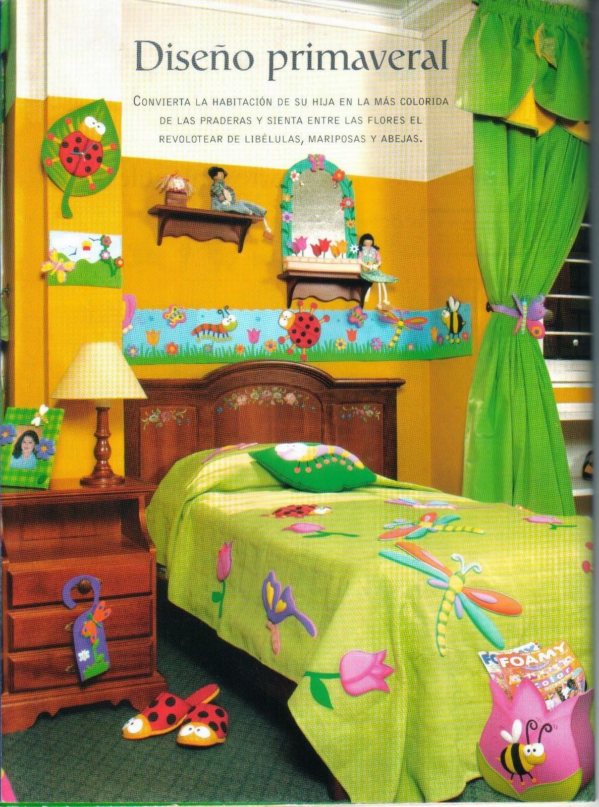 decorar cuartos infantiles con foamy - <datvara:blog.title></datvara ...