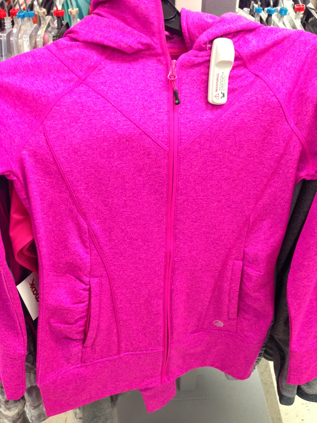 Style Athletics MPG Mondetta Performance Gear Pink Sweatshirt