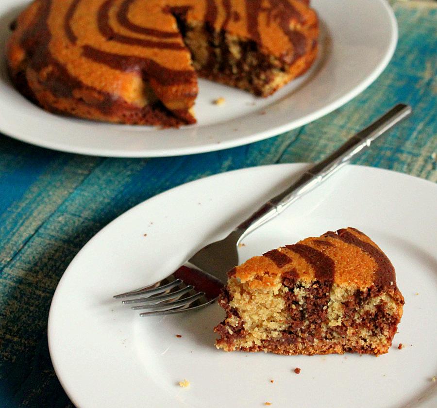 Whole Zebra Cake