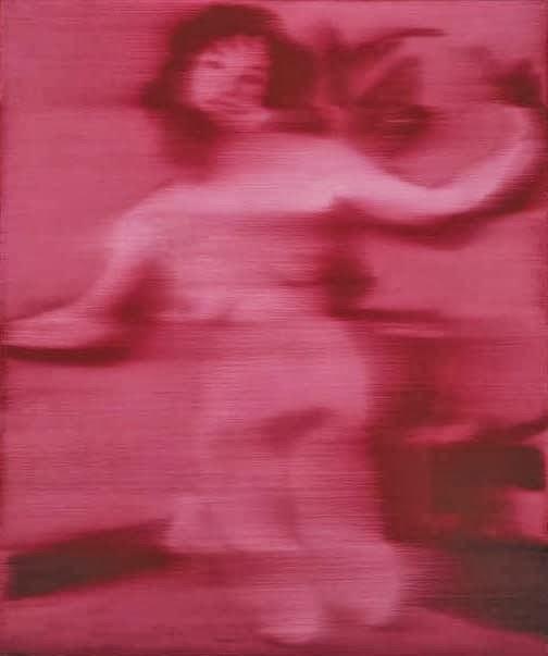 Gerhard Richter - nu rouge,1965.