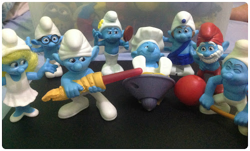 McDonald's Happy Meal: The Smurfs
