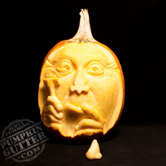 Most expressive d pumpkin face sculptures ii spicytec