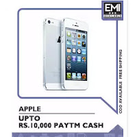 PayTM: Buy Apple iPods, iPhones and Mac Books at upto Rs.10,000 Cashback