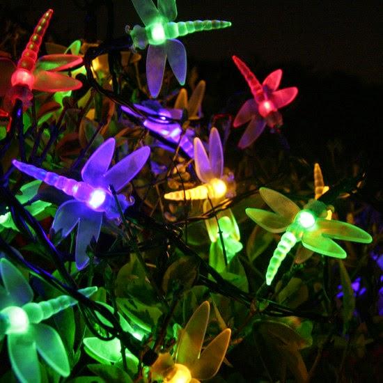 Jard n solar iluminaci n festiva con energ a solar for Iluminacion para jardines energia solar