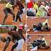 Kenyan women exchange blows over a man