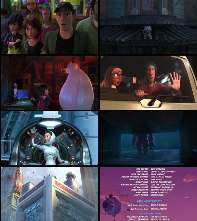 Big Hero 6 2014 English BRRip 480p