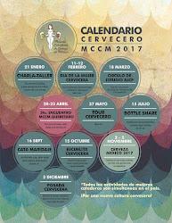 CALENDARIO CERVECERO 2017
