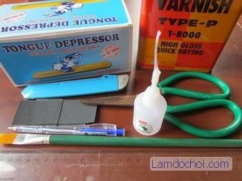 Làm Danbo Handmade Từ Que Đè Lưỡi