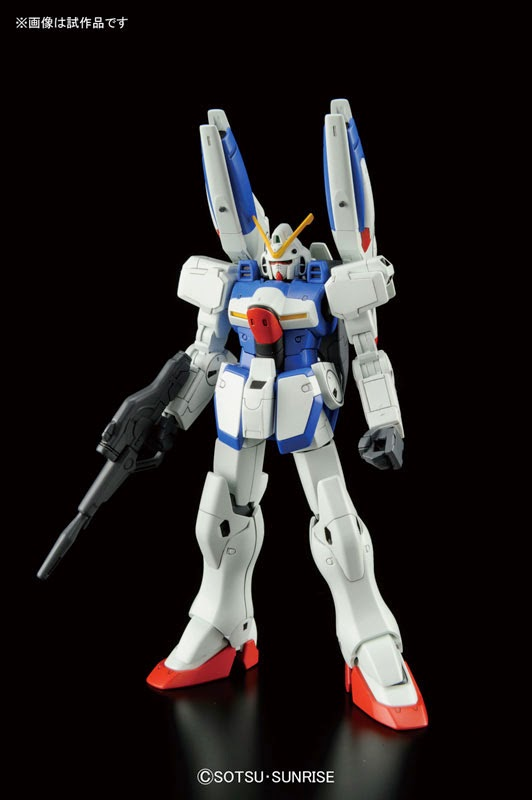 HGUC 1/144 V Dash Gundam - Release Info, Box art and Official Images