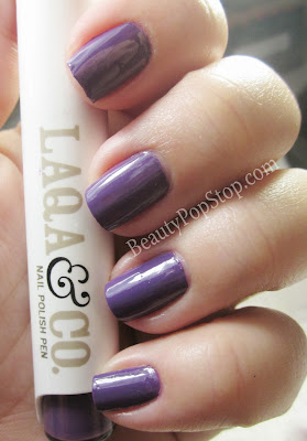 LAQA blurple swatch
