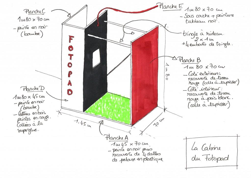 en un tour de main tuto la cabine photo. Black Bedroom Furniture Sets. Home Design Ideas