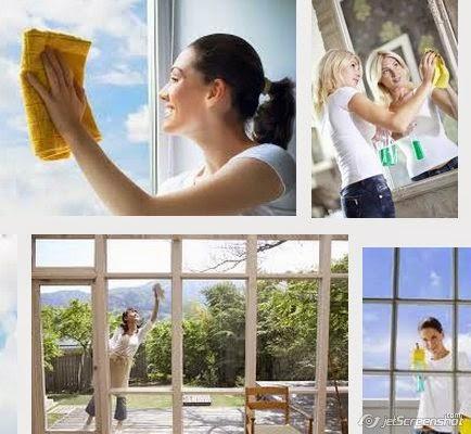 limpieza de espejos y vidrios