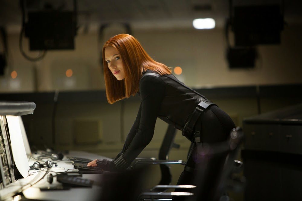 Scarlett Johansson in Captain America: The Winter Soldier