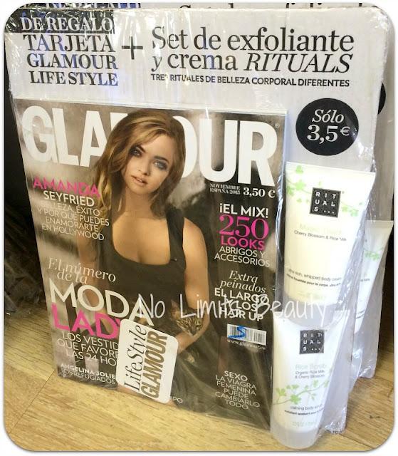Regalos Revistas Noviembre 2015 - Glamour
