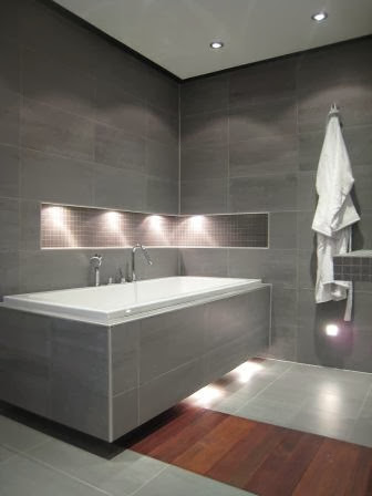 The Floating Bathtub A Contemporary Design Plan Using