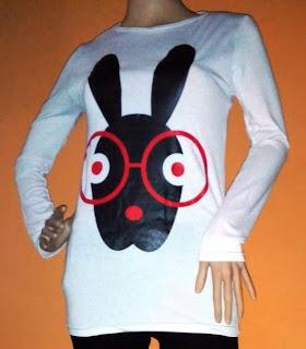 Blouse Korea Rabbit
