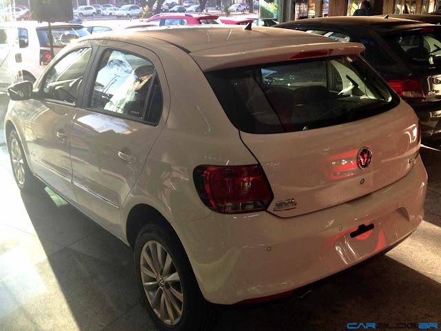 VW Gol G6 2013 - lanternas