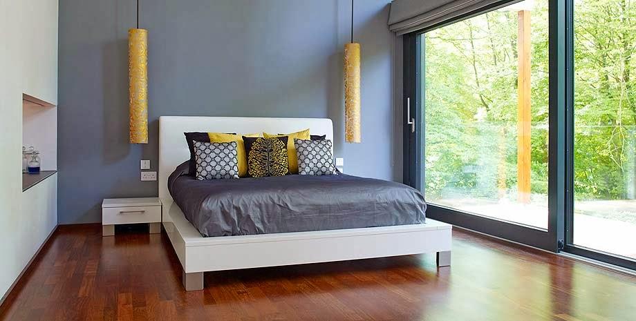 Decoracion En Gris Y Amarillo ~ Habitaciones en gris blanco y amarillo  Dormitorios colores y estilos