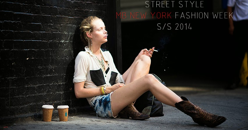 Te Dore Street Style Mb New York Fashion Week S S 2014