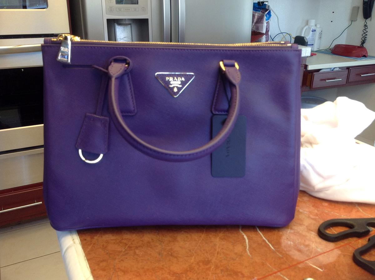 prada black saffiano leather tote - prada purple saffiano bag