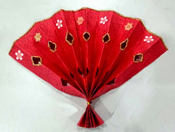 paper craft for Chinese new year