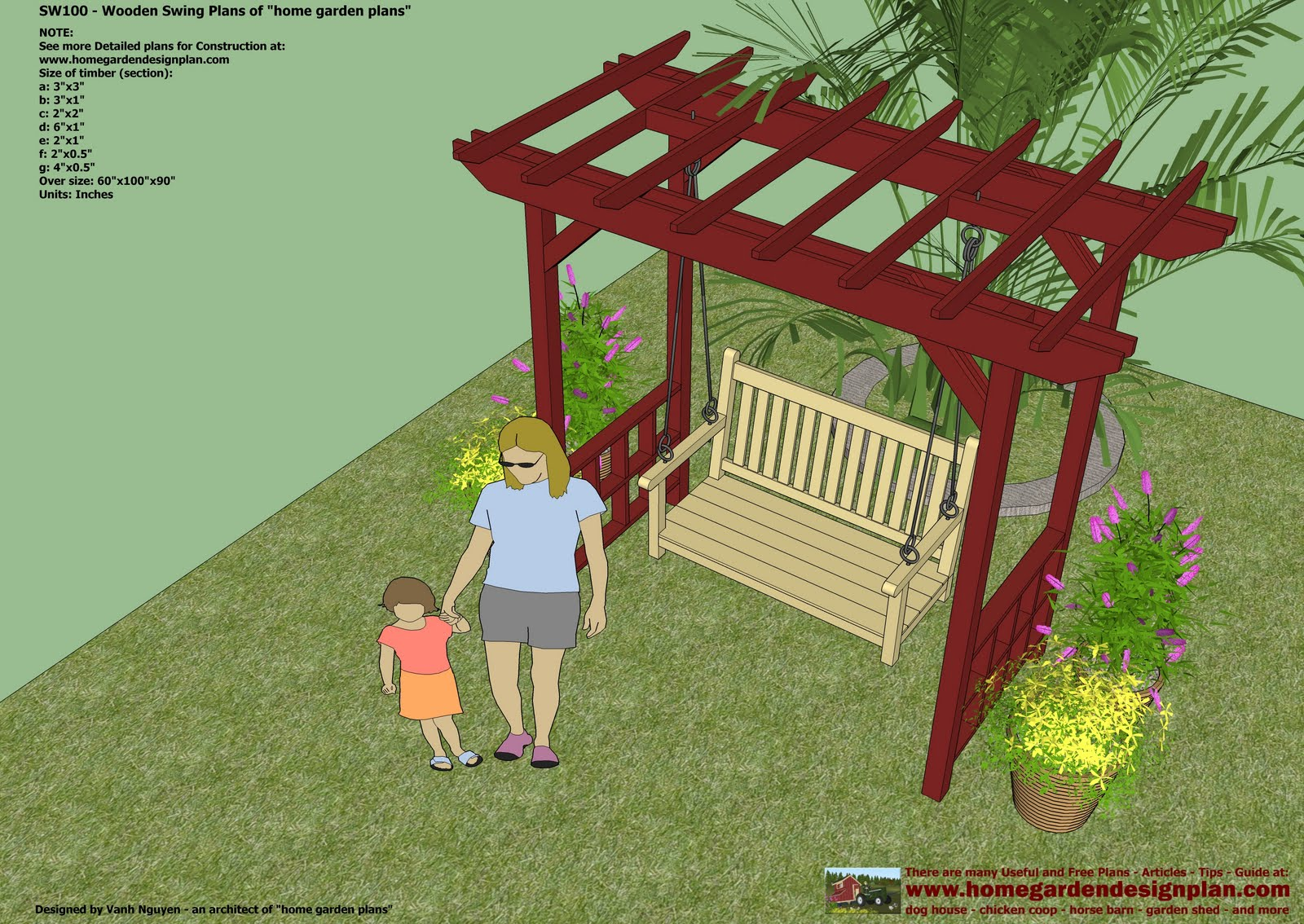 Swing Outdoor Furniture Plans