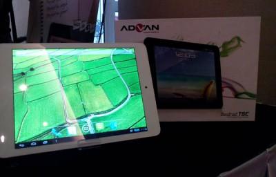 Advan Luncurkan Vandroid T5C, Tablet Quad-Core Berharga Miring