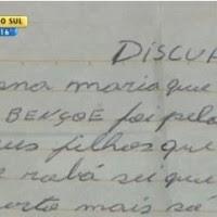 Em bilhete, assaltante pede desculpa e devolve pertences em Porto Alegre