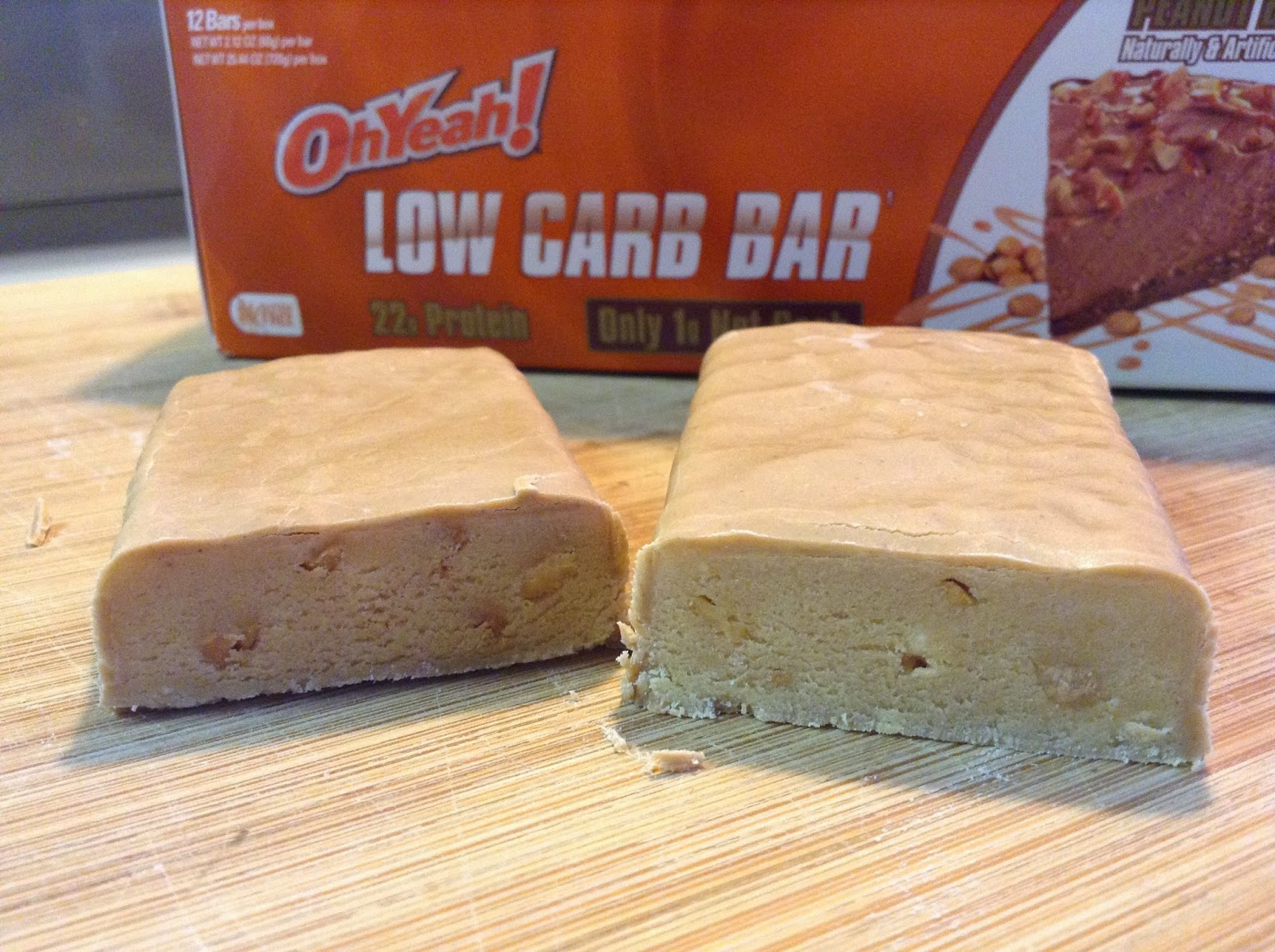 oh yeah! low carb bar