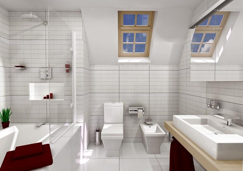Banheiros Modernos Decorados – Dicas e Fotos -> Dicas Banheiro Moderno