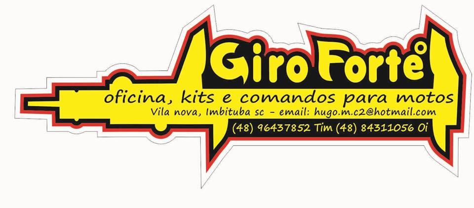 GIRO FORTE° oficina especializada na preparação de comandos de valvulas e motores de motos em geral